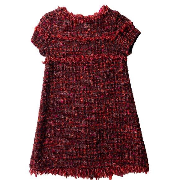 ZARA Girl Toddle Dress Red